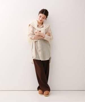 [Spick & Span] シアーボイルシャツ3◆