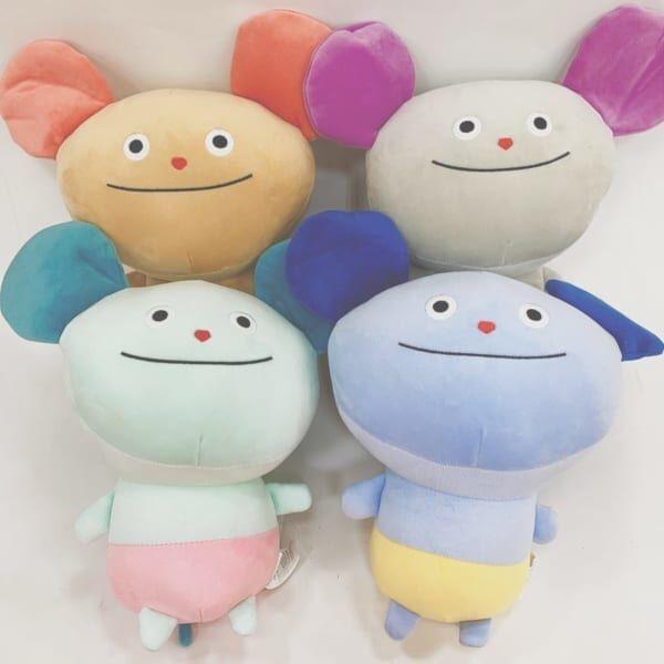 【ダイソー】カラフルマウス抱きまくら