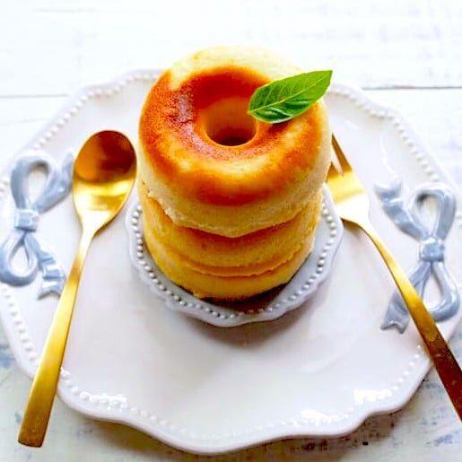 【連載】ヘルシーな焼きドーナツが作れる♪ダイソーのプチケーキ型が便利でカワイイ