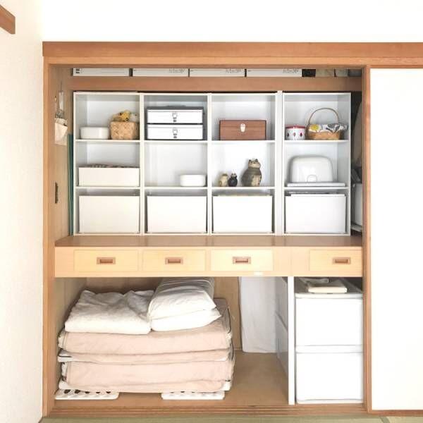 押し入れはこう使おう!収納上手になれる和室収納アイデア特集