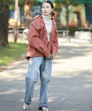 [Bou Jeloud] モクフェイクウールCPOシャツジャケット