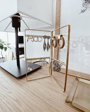 アクセサリーの美しい収納アイデア10選!見せる収納&隠す収納どちらも紹介♪