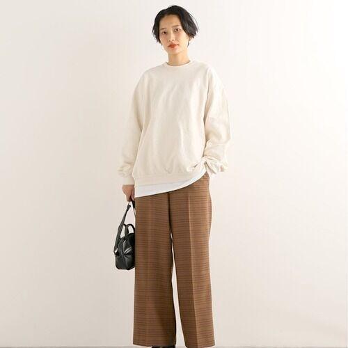大人の女性らしさを纏わせて♡きれい目センタープレスパンツの着こなし15選
