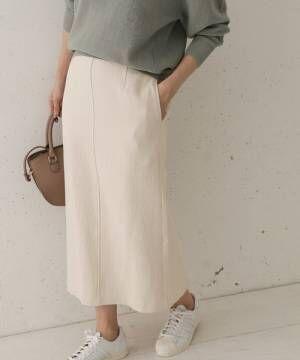 [URBAN RESEARCH DOORS] センターステッチストレートスカート