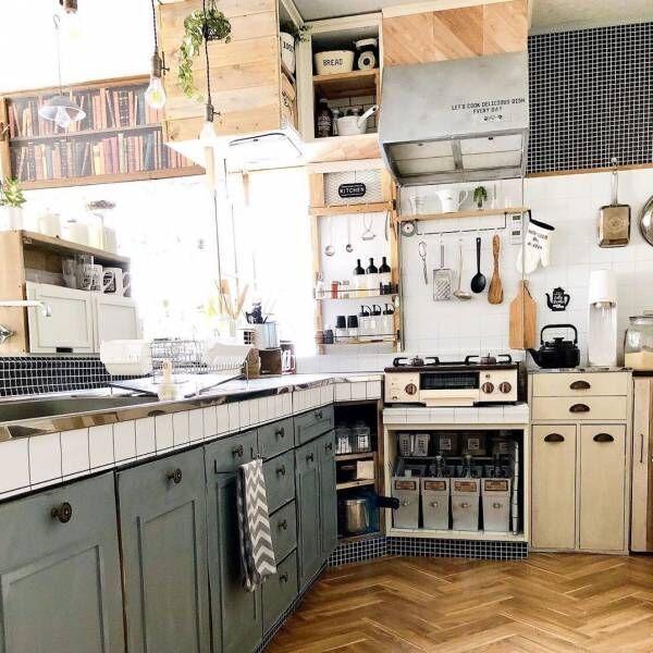 お店のようなかっこいいキッチンに憧れる♡真似したくなるキッチンインテリア実例