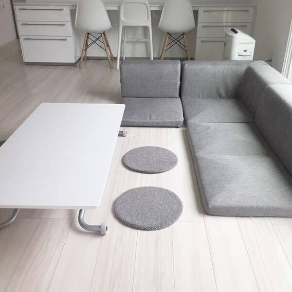 部屋を広く見せる家具2