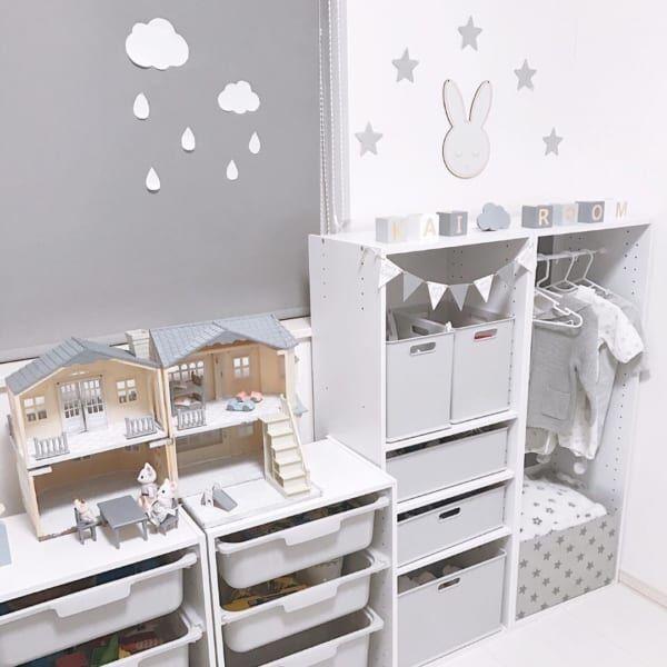 成長や年齢に応じてアップデートしよう♪【子供部屋】収納アイデア