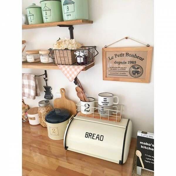 お洒落なカフェ風キッチン