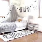 ロマンティックなベッドルームを作りたい!キャノピーとヘッドボードがポイントに