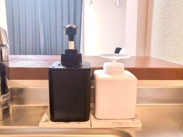 洗剤ボトル&消毒ボトル