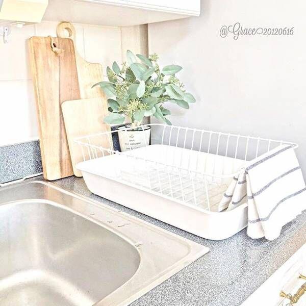 洗った食器もインテリアに♡キッチンが明るくなるおしゃれな水切りカゴをご紹介!