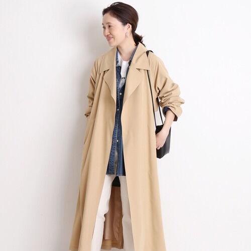 春先はロングコートで決まり♡おしゃれで暖かい春コートの着こなし