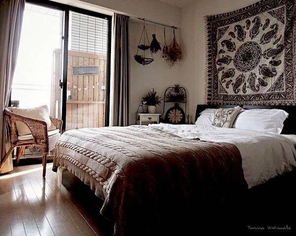 まるで海外インテリア♡ムード満点のおしゃれな寝室のエッセンスをとりいれよう!