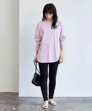 パンツを使ったレディースファッション2