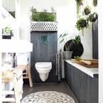 狭い空間もこだわり抜いて♪参考にしたい海外トイレのインテリア集
