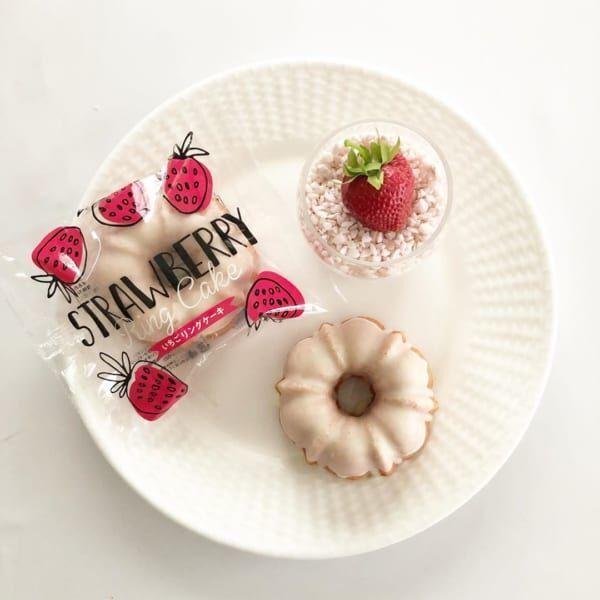 いちごリングケーキ