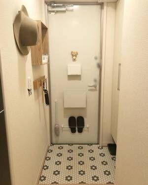 玄関扉も活用