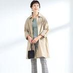 シーンを選ばない!「ステンカラーコート」を大人っぽく素敵に着こなすコツ