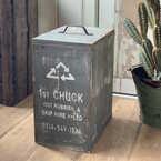 【連載】ゴミ箱を隠して生活感ゼロ!オシャレなゴミ箱カバーをDIY