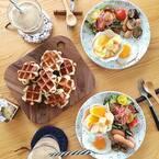 素敵な朝ごはんの風景。食欲そそる盛り付け&テーブルコーデのアイデア集