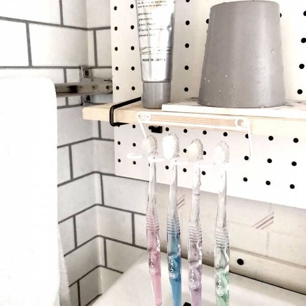 《ニトリetc.》で歯ブラシ収納!使いやすく衛生的にも安心なアイデア集