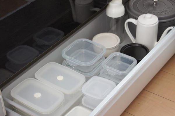 「保存容器」を収納しよう。