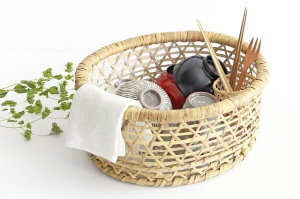 根曲竹の「椀かご」