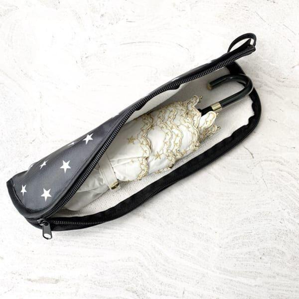 濡れた傘もバッグに入れられる折りたたみ傘用収納袋
