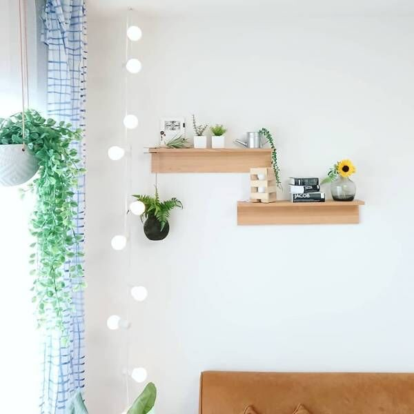 リアル感のある【ニトリ】のフェイクグリーン♪爽やかなお部屋作りにおすすめ!