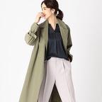 30代からの装いは「トレンチコート」できれいめに♡トレンチコーデ15選