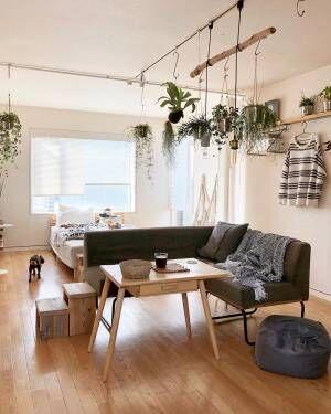 家具はどのレイアウトが正解?一人暮らしのお部屋をおしゃれにグレードアップ♪