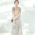穿くだけで華やぐ♪コーデの主役にしたい柄スカートで魅せる春スタイル