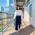 定番人気『ワイドパンツ』のオフィスカジュアル☆春の着こなし3選