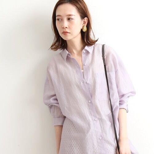 透け感がおしゃれな『シアーシャツ』をピックアップ♪春コーデ15選