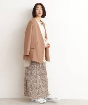 [N.(N. Natural Beauty Basic)] ◆リスタビュールノーカラージャケット