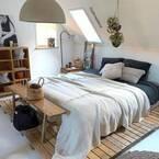 おしゃれハウス大集合!自然の温かみを感じられる寝室インテリア
