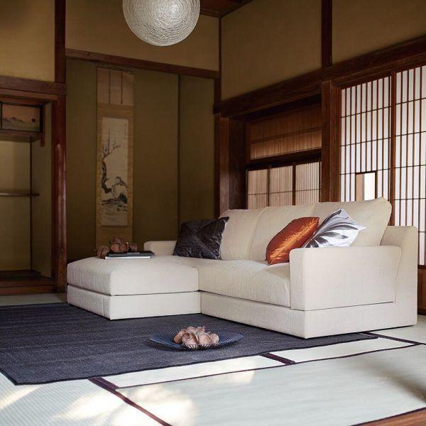 和室+ソファでくつろぎの空間にする