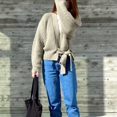 さっと羽織って便利!【ZARAetc.】カーディガンで作る春の大人女子コーデ♡