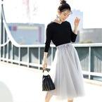 30代40代女性が春に着たいコーデNo.1♡女っぽさ満点のスカートコーデ15選