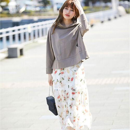 春らしさNo.1の『花柄スカート』♡大人女子のおすすめコーデ15選