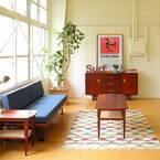 ベッドやソファに合わせて機能的に!ミニテーブルを活かした空間