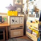 子どもが絵本好きになるかも!お洒落で使いやすさにもこだわった絵本棚♡
