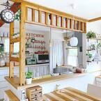 自分好みのキッチンカウンターを作りたい♪DIY好きさんのDIYアイデア