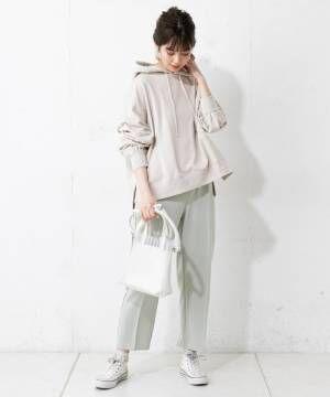 [natural couture] プチプラ美シルエットテーパード