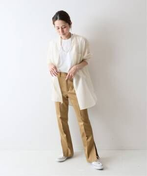 [Spick & Span] Co/Si シアーシャツ◆