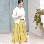 明るい印象に早変わりする♡「イエロースカート」の春スタイル15選