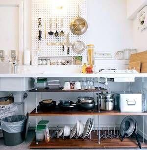 キッチン収納のテクニックを大公開!オシャレな収納術を学ぼう♪