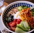 【連載】普通に食べるだけじゃない!即席袋麺で作るビビン麺の早うまレシピ