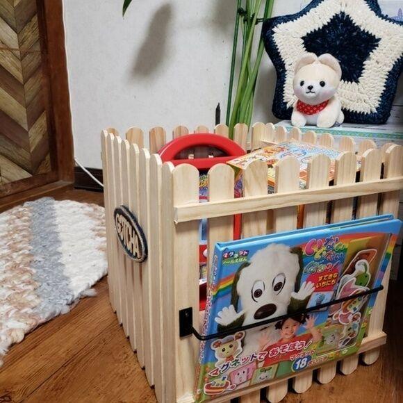 おもちゃ収納 100均 DIY3