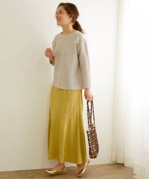 春の女っぽスカートコーデ3